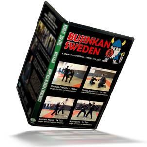 BUJINKAN SWEDEN SEMINAR 2007 in SUNDSVALL