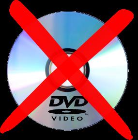 DVD's Are Dead